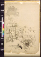 Welmich, with the ruins of its castle, the Mouse