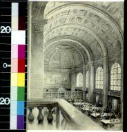The reading room -- Bates Hall