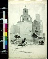 San Xavier del Bac, near Tucson