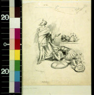 On his knees again : Agamemnon begging Achilles for help in the fray