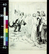Guests of honor (our parlor Bolsheviki)