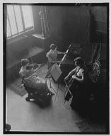 Rubel, Miss, playing in a trio