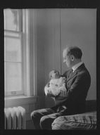 Kennerley, Mr., and Norman baby, portrait photograph