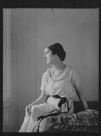 Norman, D., Mrs., portrait photograph