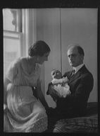 Kennerley, Mr., Mrs. D. Norman, and Norman baby, portrait photograph
