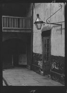 Courtyard in the rear of the Cabildo, New Orleans