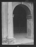 Entrance gateway of the Cabildo, New Orleans