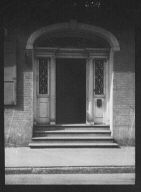 Entrance of the Hermann-Grima House, 820 St. Louis Street, New Orleans