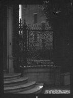 Wrought iron fence of the George Edwards House, 14 Laguerre Street, Charleston, South Carolina
