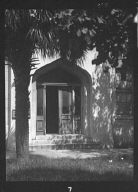 Entrance to an unidentified building, New Orleans or Charleston, South Carolina