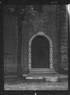 Doorway of an unidentified building, New Orleans or Charleston, South Carolina