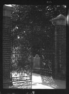 Gate to cemetery, New Orleans or Charleston, South Carolina