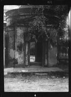 Gatehouse in front of the Joseph Manigault House, 350 Meeting Street, Charleston, South Carolina