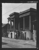 Colonial residence in the Vieux Carré, New Orleans