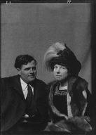 London, Jack, Mr. and Mrs., portrait photograph