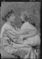 Burden, J.A., Mrs., and child Florence, portrait photograph