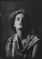 Garbo, Greta, Miss, portrait photograph