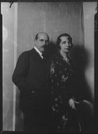 Warch, Edgar, Mr., and Mrs., portrait photograph