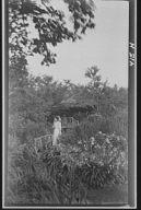 Jordan, Miss, in Bush's garden