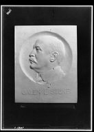 Stone, Galen L., Mr., portrait relief
