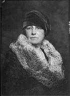 Wertheimer, M.A., Mrs., portrait photograph