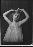 Unidentified dancer, possibly Miss Elsa Duisdieker