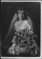 Burnham, Edward W., Mrs. (Miss French), portrait photograph