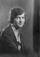 Vincent, Ruth, Miss, portrait photograph