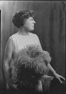 Baker, Fred, Mrs., portrait photograph