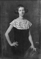 Laurence, J., Miss, portrait photograph