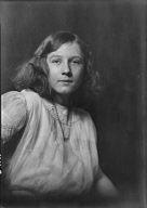 Millett, Betty, Miss, portrait photograph