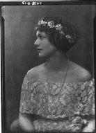 Prussing, Louise, Miss, portrait photograph