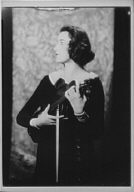 Given, Thelma, Miss, portrait photograph