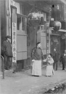 A family from the Consulate, Chinatown, San Francisco