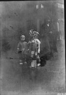 Children walking, Chinatown, San Francisco
