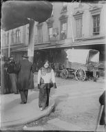 A slave girl in holiday attire, Chinatown, San Francisco