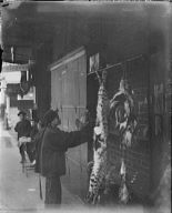 The wild cat (for the Highbinder's feast of the uncooked meat), Chinatown, San Francisco