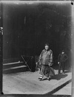 Merchant and bodyguard, Chinatown, San Francisco