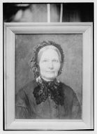 Portrait painting of Arnold Genthe's grandmother