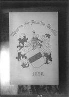 Coat of arms of the Genthe family
