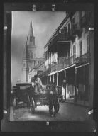 St. Louis Cathedral from Chartres Street, New Orleans