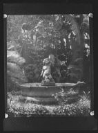 Fountain figure from the court of the Three Sisters, New Orleans