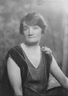 Bergin, Helen, Miss, portrait photograph