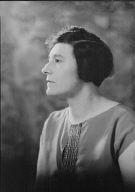 Lowenberg, Anna R., Mrs., portrait photograph