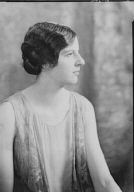 Dickenson, Martha, Miss, portrait photograph