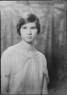 Dickenson, Elizabeth, Miss, portrait photograph
