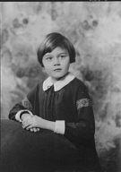 Ziegler, Barbara, Miss, portrait photograph