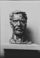 Epstein, Jacob, Mr., sculpture