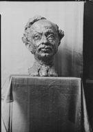 Epstein, Jacob, Mr., sculpture of poet Moysha Oyzed