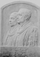 Draper, William K., and William H., portrait sculpture